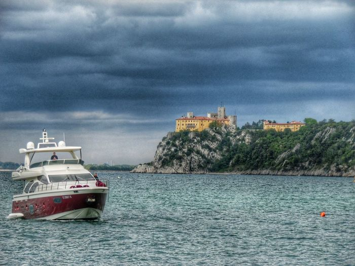 Castello di Duino Trieste Italy Castello Di Duino Trieste TriesteSocial Triesteraccontatrieste Triestephotodays Trieste_streetlife Triestestreetlife Trieste, Italy Triestemonamour