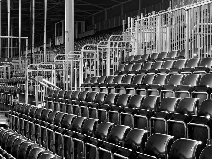Bath Rugby Stadium In A Row Repetition Arrangement Seat Empty No People Chair Stadium Architecture Metal Side By Side Built Structure Sport Rugby