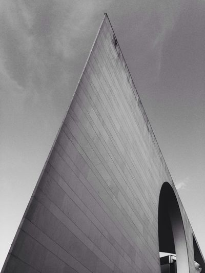 Architecture Blackandwhite I ❤ BERLIN 'Three Is A Magic Number' Geometric Shapes