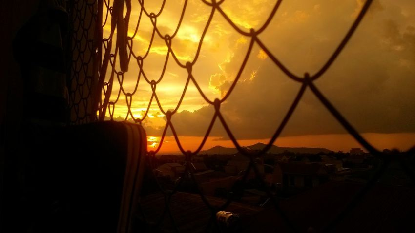 Sun Set Sky And City My Room Chil Out