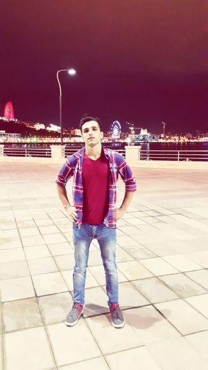 Baku city Boulevard