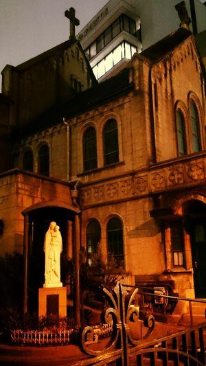 Old Church Tokyo Street Photography Night Walking Mobilephotography Maria Starue