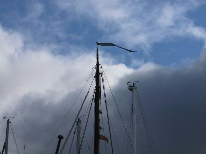 Masts Clouds Clouds &sky cl Taking Photos Boats Getting Inspired Seaside
