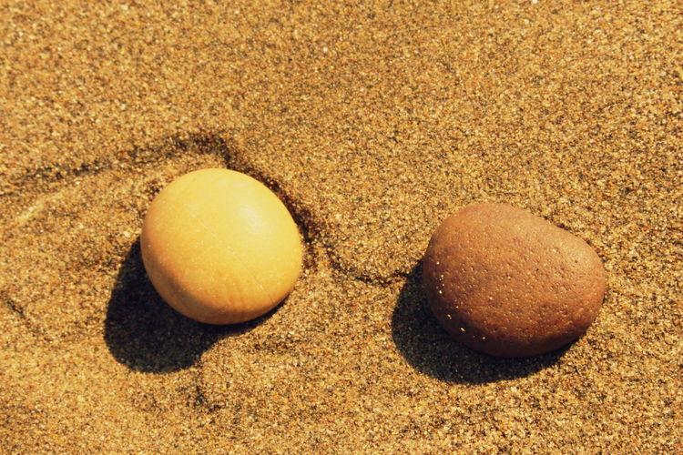 Stones on Beach, Mazandaran, Iran.