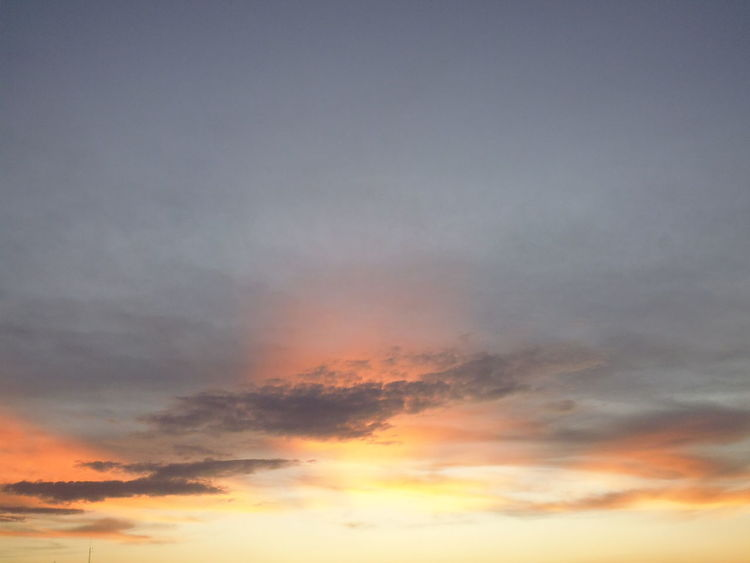 Sunset Clouds in the Sky Sunset Clouds Susan A. Case Sabir Unretouched Photography Beauty In Nature Day No People Outdoors Patterns In The Sky Scenics Sky Sunset Sunset Clouds And Sky Tranquil Scene Tranquility