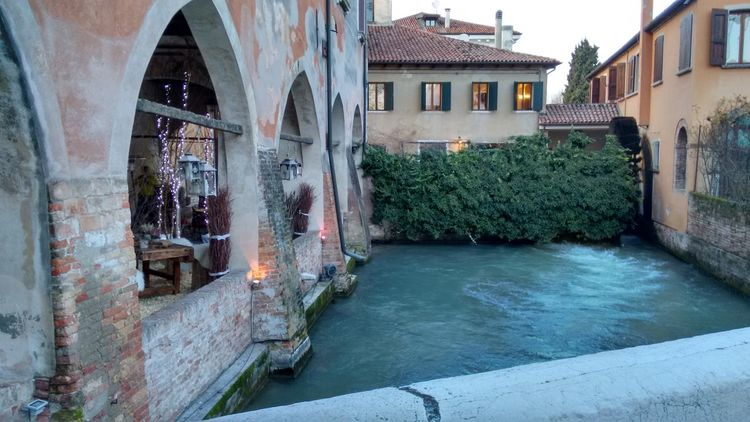 Buranelli Treviso EyeEm Selects Water House Old Town Architecture Building Exterior Built Structure