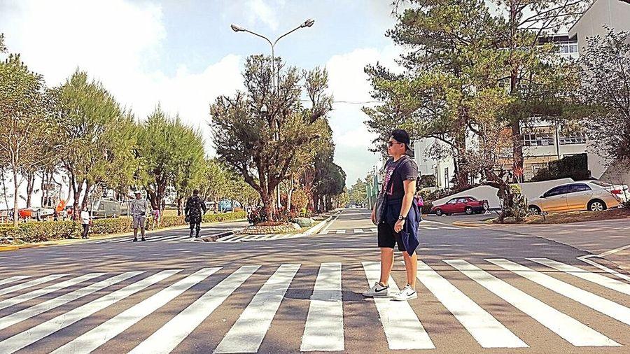 Pedestrian Crossing Naturelovers Pedestrian Zone Metime Philippines