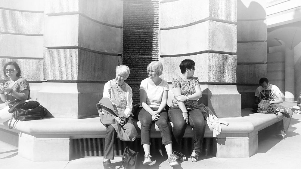 Women People People Watching People Watching People Watching... London St.Pauls Cathedral St.Pauls Square, London Sunnydays Family Sisters Mum Mother Generations Women Around The World