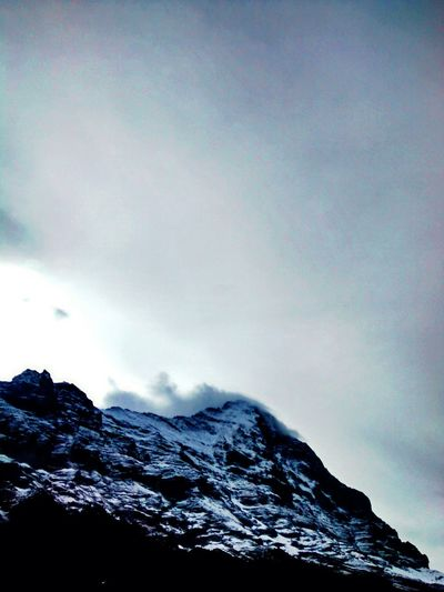 Bernese Oberland Mountains And Sky Skyporn Switzerland Mountains Eiger