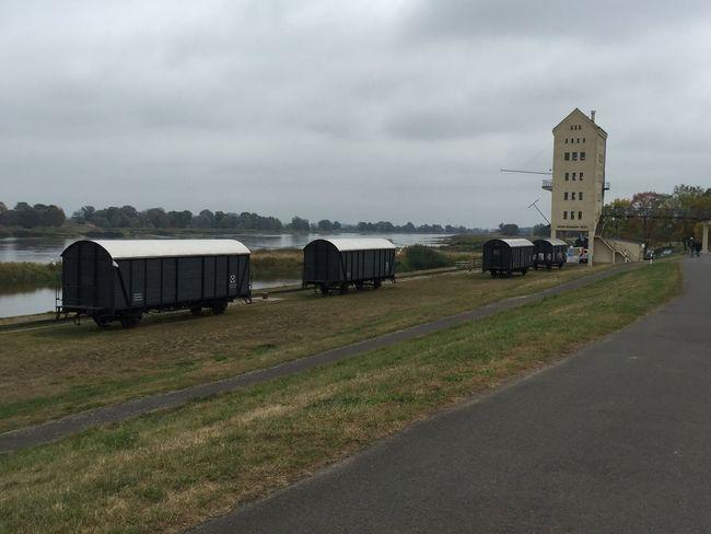 An der Oder ... Eisenbahn Waggon