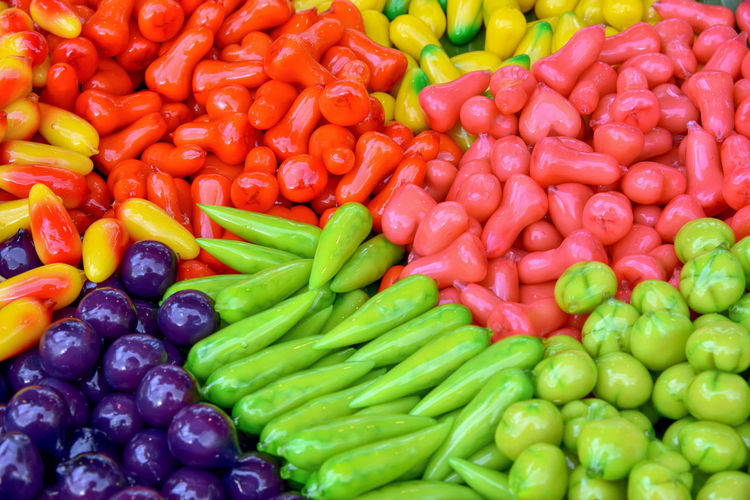 Deletable imitation fruits. Cooking Dessert Green Kanom Look Choup Market Pink Red Thai Foods Thai Desserts Abstract Background Colorful Deletable Imitation Fruits Delicious Diabetes Food Gourmet Green Beans, Health Healthy Eating Multi Colored No People Sweet Sweet Food Yummy