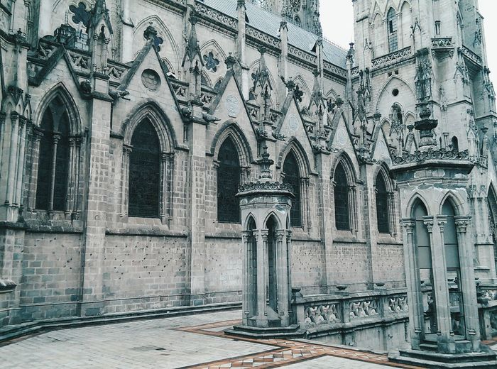 Ecuador♥ Architecture Place Of Worship History Religion Built Structure Spirituality The Architect - 2017 EyeEm Awards