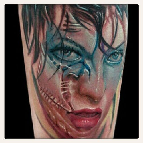 Zombie Milla Tattoos Victoria's Secret