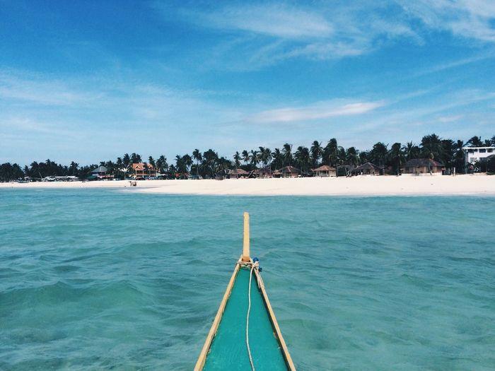 Bantayan Island, Cebu Philippines VSCO Eye Em Nature Lover Eyeemmarket Blue Seascape Photography