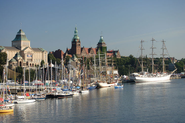 Harbor Odra Poland Segeln Szczecin Tall Ship Transportation Boat Day Harbor Mast Moored Nautical Vessel Polen River Sailing Boat Ship Stettin Transportation Travel Destinations Water Yacht