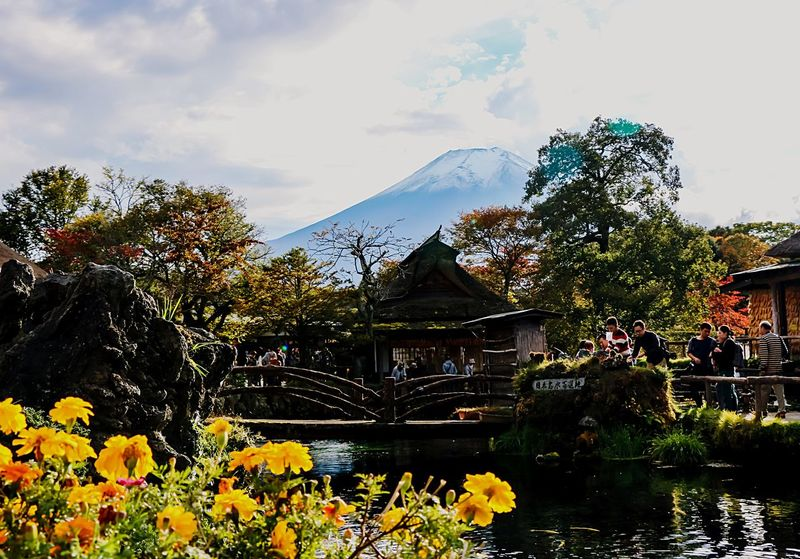 A Series Of Fuji Mountain's Picture -11 Autumn Fujimountain Colors Of Autumn Mt.Fuji Mountain View Eye Em Nature Lover EyeEm Best Edits Fuji Mountain Beautiful Nature Autumn Leaves
