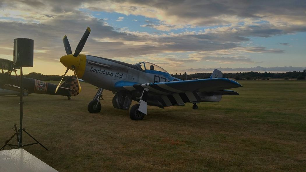 P51 Mustang Warbird Sonnenaufgang Sunrise Airshow Airshowphotography Flugshow Bad Sassendorf Flugzeug Plane