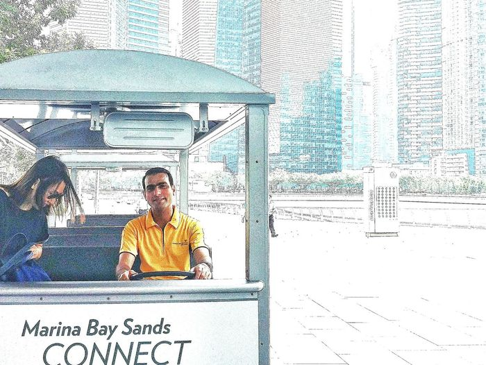 Marina Bay Sands Connect Service 11.30am-2pm Singapore
