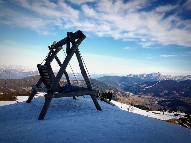 Mountain View Winter Wonderland Flachau Winter2016 ❄