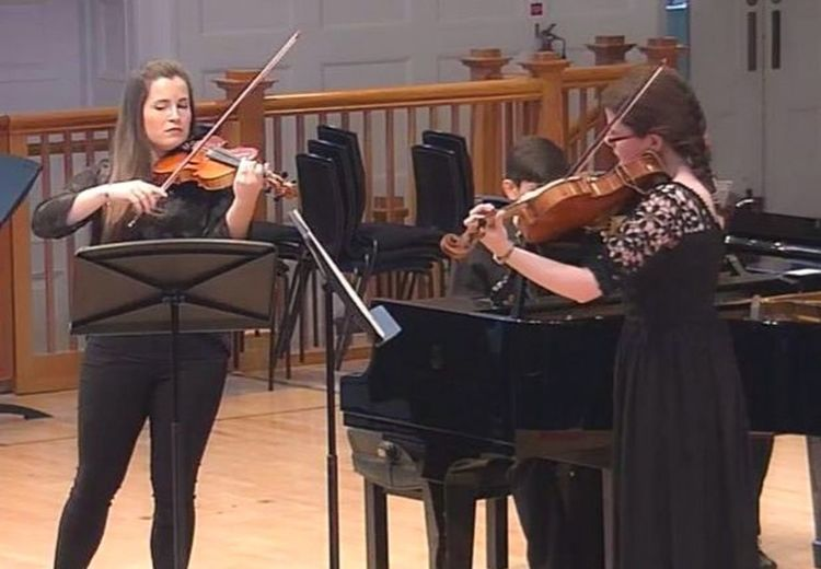Such a lovely concert! Trio Pabulum, our official debut 😊 Music Violin Viola Piano Passion Concert Debut  Love Trio