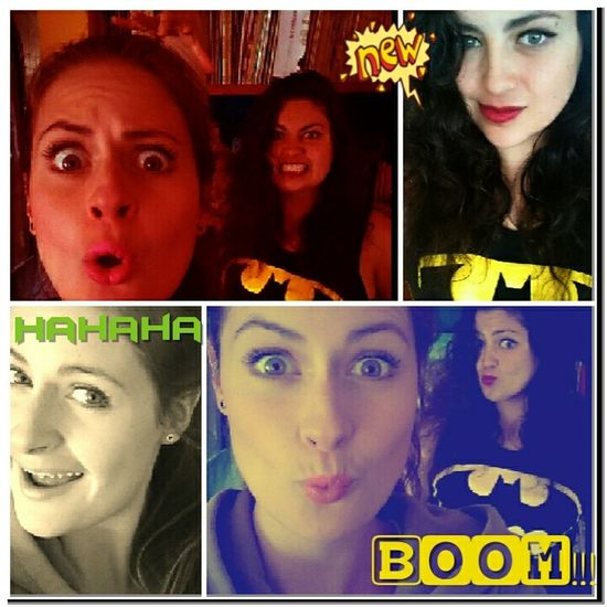 Sisters Crazy Girls Listen To Me Batman ❤ My History
