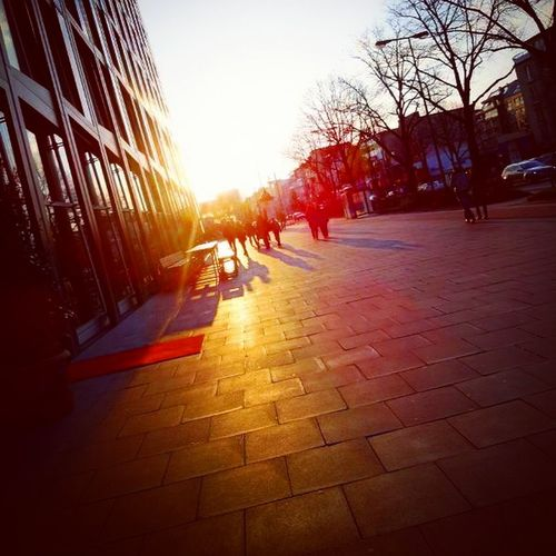 Hamburg St.Pauli Sun Rise