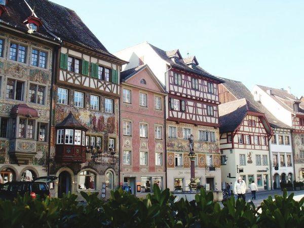 Building Exterior Built Structure Day Travel Destinations Town Wonderful Place Switzerland