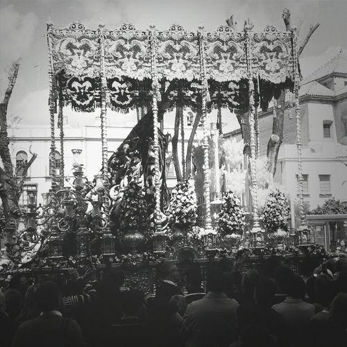 #SSanta13 Virgen de las Angustias Sevilla Santa Catalina Seville Semana Santa Sevilla 2013