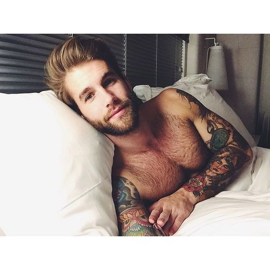 Have a great Thursday guys :) ? Tattoo Man With Tattoo André Hamann German