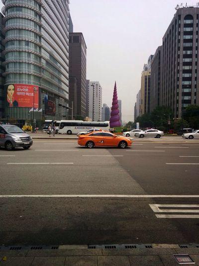 Texi Road Gwanghwa-mun