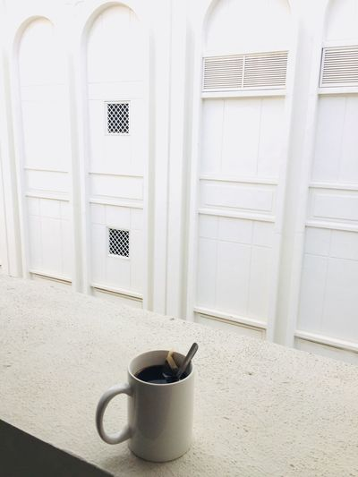 coffe EyeEm Selects Indoors  Window No People Architecture Day Home Interior Cup Mug Wall - Building Feature Entrance Door Built Structure Still Life Drink House Window Sill Kitchen Utensil Security Closed Tea Cup