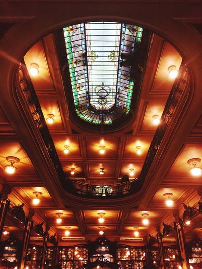 Colombo Lights Historical Building Shop Indoors  Illuminated Ceiling Lighting Equipment Low Angle View No People Architecture Wealth Window Luxury Built Structure Ornate Vehicle Interior Chandelier Glass - Material Hanging Pattern Day Decoration Directly Below