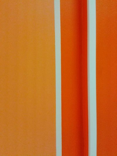Full frame shot of orange wall