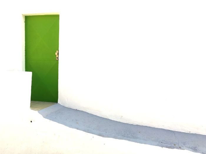 Day Door Green Door Whitewash Whitewashed House SPAIN Sunny