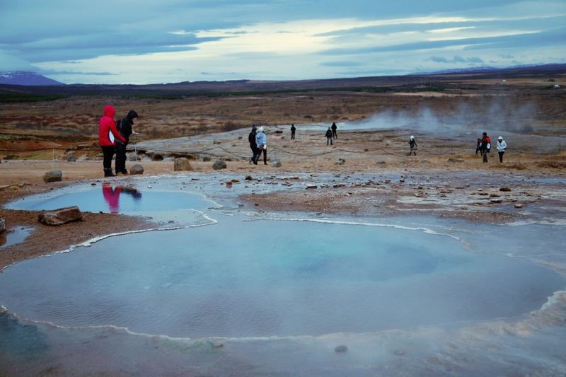 The EyeEm Facebook Cover Challenge in Strokkur Geysir Micky In Iceland RePicture Leadership The Moment - 2015 EyeEm Awards The Adventure Handbook