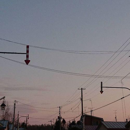 なおphoto 別角度から 夜明け 時々矢印