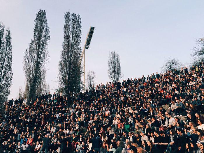 open air karaoke Open Air Crowd Karaoke Mauerpark People #FREIHEITBERLIN