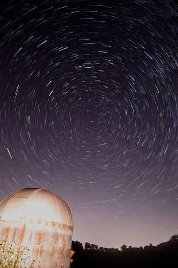 Startrails Nightphotography Astrophotography Polaris Night Sky Indiana