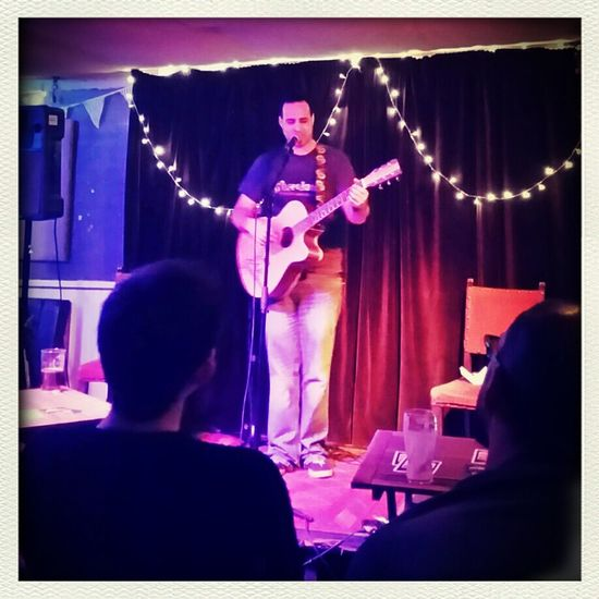 Shaun O'Reillys Acustic Night is kicked off by Ads Graham. Night Out Gig Awesome Music