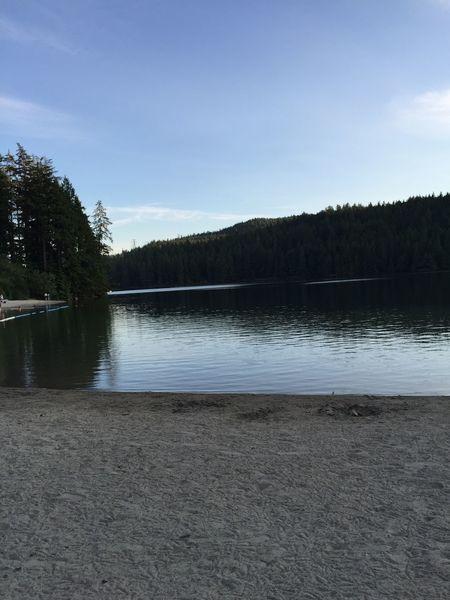 Relaxing Reflection Being A Beach Bum