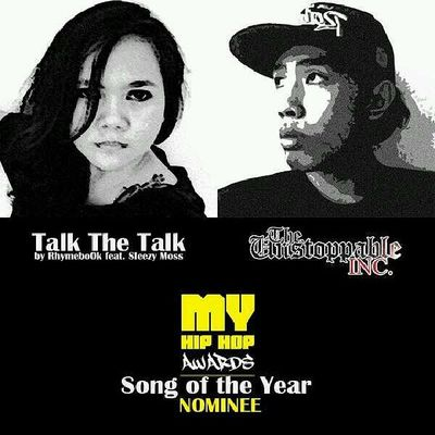 TalkTheTalk by @bellarovella feat. Me. MalaysiaHipHopAwards2013 . Songoftheyear . Cast your votes here - http://themovemint.com/myhha-voting/. Your votes will be appreciated fo' shizzy.