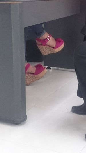 Under Desk Nice Shoes