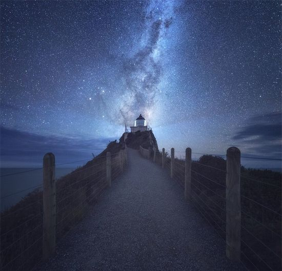 Nugget Point and the Milky Way First Eyeem Photo