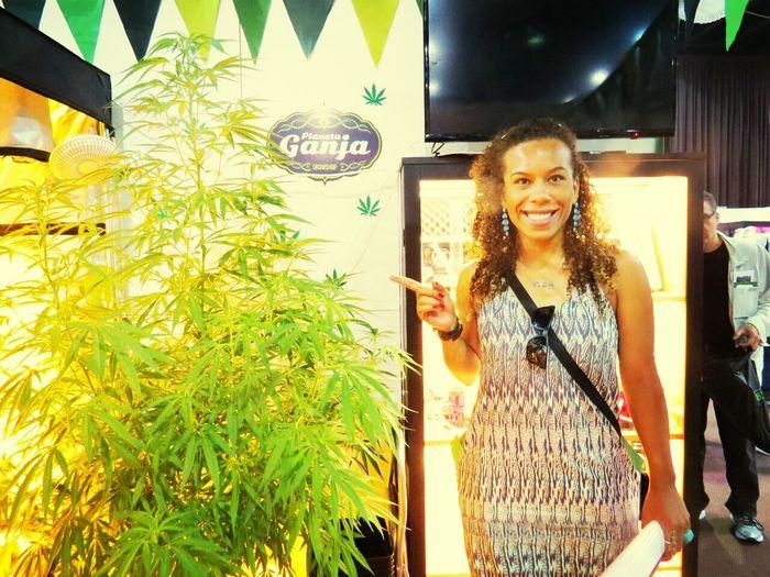 Ganja Girl Ganjah Exploring The World Art & Marijuana