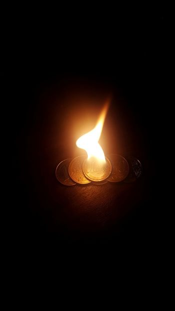 Money is in some respects life's fire: it is a very excellent servant, but a terrible master. Money Fire Burning On Fire Hot Euros Bored Playing With Fire😈 Quotes Black Background No People Dark Burning Glowing