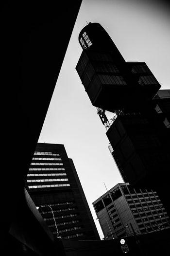Film Photography Film City EyeEm Best Shots Street Photography Tokyo Street Photography Streetphotography Street Architecture Light And Shadow Blackandwhite Monochrome 35mm Leicacamera