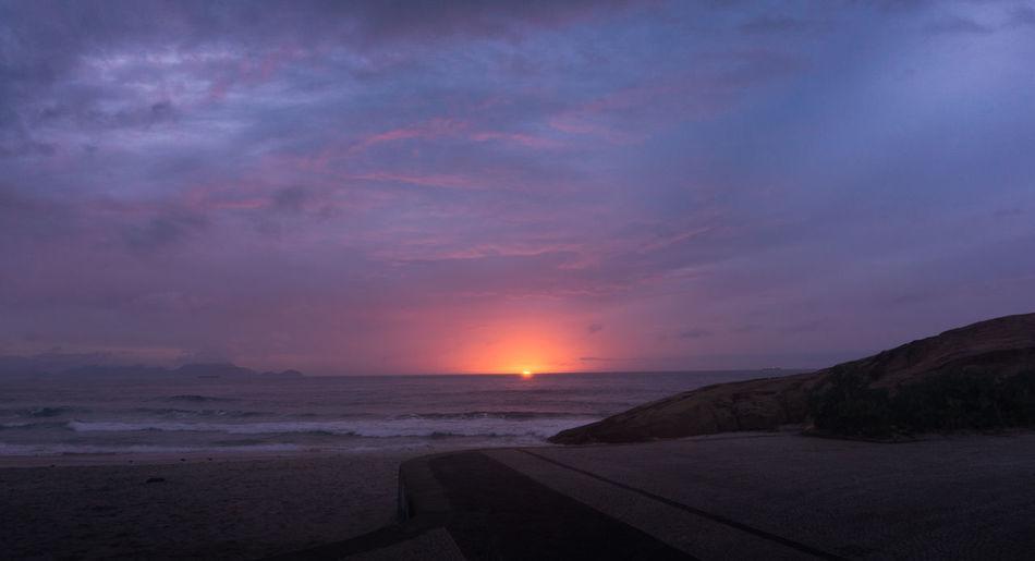 Sunrise Beautiful Sky Beatiful Colors Nature Seascape Sea And Sky