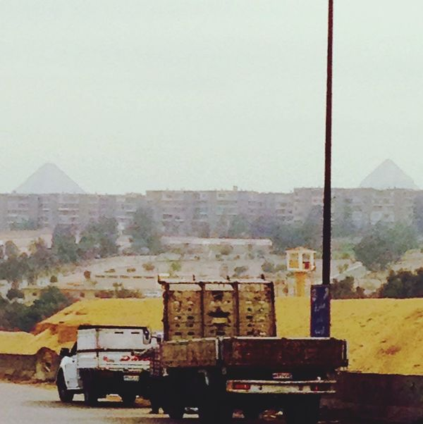 On the way to Ma3adi two Pyramids Check This Out Taking Photos Haze Hi! Hello World