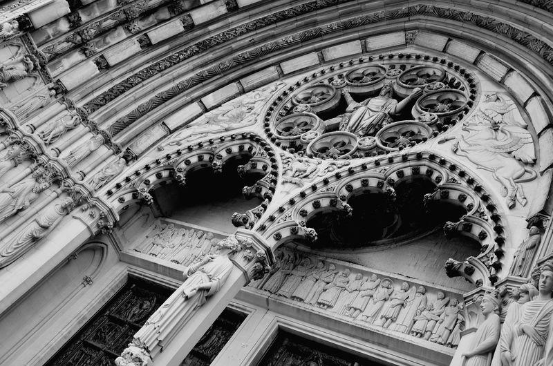 Tilt Image Of Historic Building