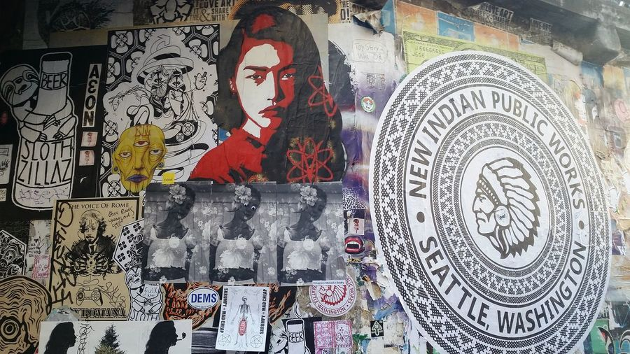 Seattle Postalley Pike Place Market Graffiti Graffiti Wall Street Photography Streetphotography Streetart/graffiti Streetart Street Art